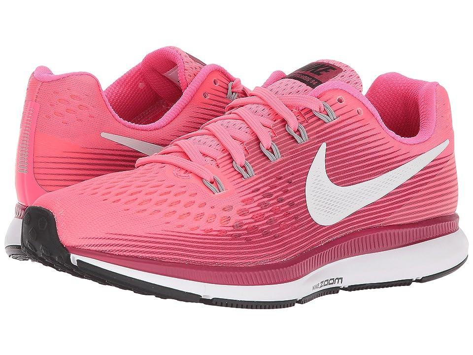 Nike Air Zoom Pegasus 34 (Racer Pink/Gunsmoke/Vast Grey) Women