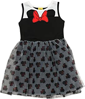 4112d81c93fd Disney Minnie Mouse Dress Sleeveless Tulle Toddler Little Girls Ages 3-6