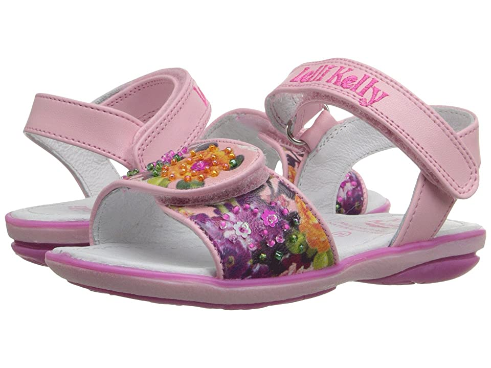 Lelli Kelly Kids Bella Sandal (Toddler/Little Kid) (Pink Fantasy) Girls Shoes