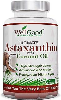 Astaxantina natural 30mg con aceite