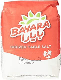 Bayara Iodized Table Salt, 1 kg