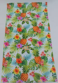 160/x 76/x 0.4/cm Catherine Lansfield Ananas Serviette de Plage Multi Coton Multicolore