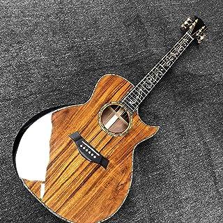 خشبي أعلى والخلف ذراع الغيتار الصوتية الشعبية البوب  الغيتار أطقم الغيتار الصوتية الصوتية الصلب سلسلة القيثارات Makfacp A...