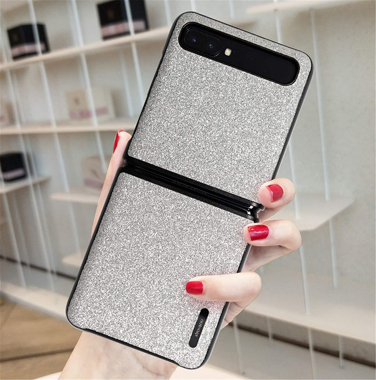 Breclar Samsung Galaxy Z Flip CaseZ Flip 5G Case, Slim Shockproof Phone Case Cover for Samsung Galaxy Z Flip 5G 2020 White