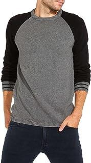 Wrangler Men's Raglan Crew Knit Sweatshirt