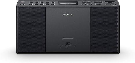 Sony ZSPE60B.CED - Microcadena (Radio con presintonías, USB, CD), Negro