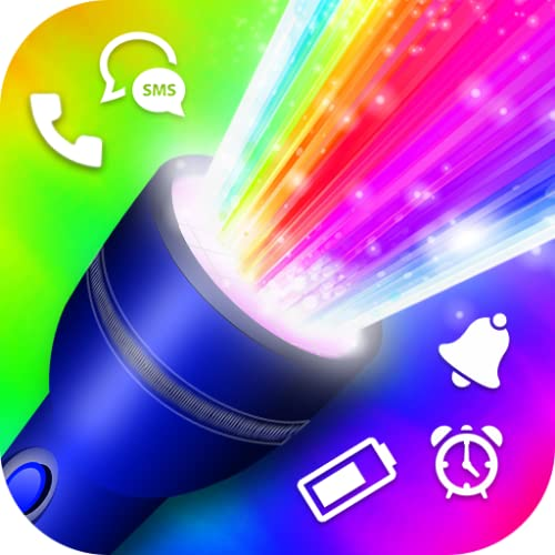 Color Flash Light Call & SMS : Torch LED Flash