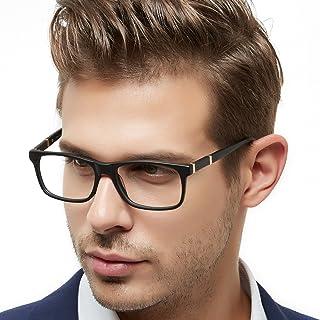 OCCI CHIARI Thin TR90 Rectangular Reading Glasses for Men Wowen Magnification 1.5 2.0 2.5 3.0