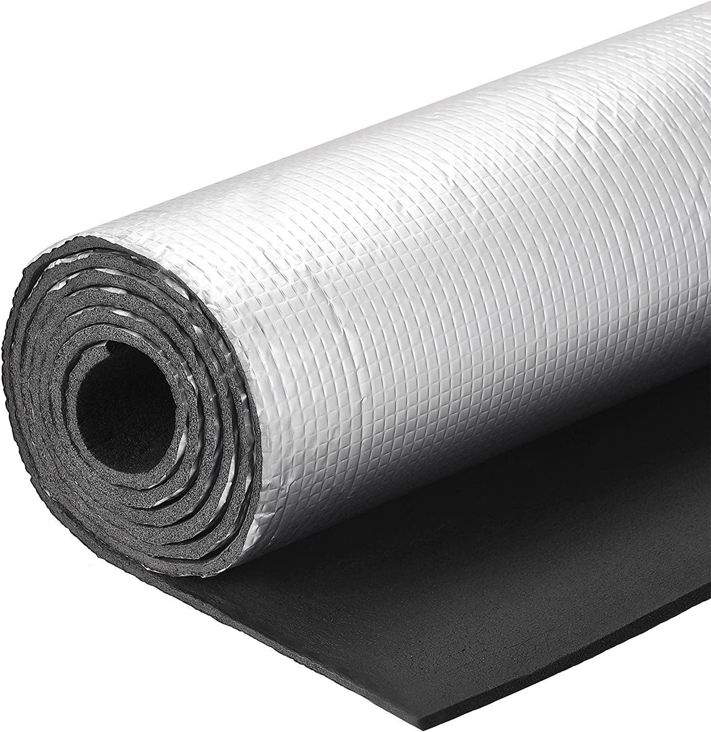 uxcell Insulation unisex 70% OFF Outlet Sheet 2mx0.5mx5mm Aluminum Foil Wate Embossed