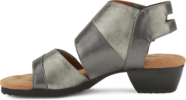 Walking Cradles Frauen Calista Offener Zeh Zeh leger Leder Slingback Sandalen  Sparen Sie 50% -75%!