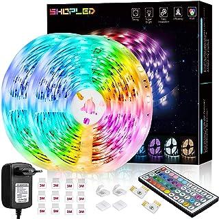 LED Strips Light 12m,24v RGBW LED Streifen Selbstklebend Mit Fernbedienung Dimmbar LED Licht Dimmbar Farbwechsel LED Band ...