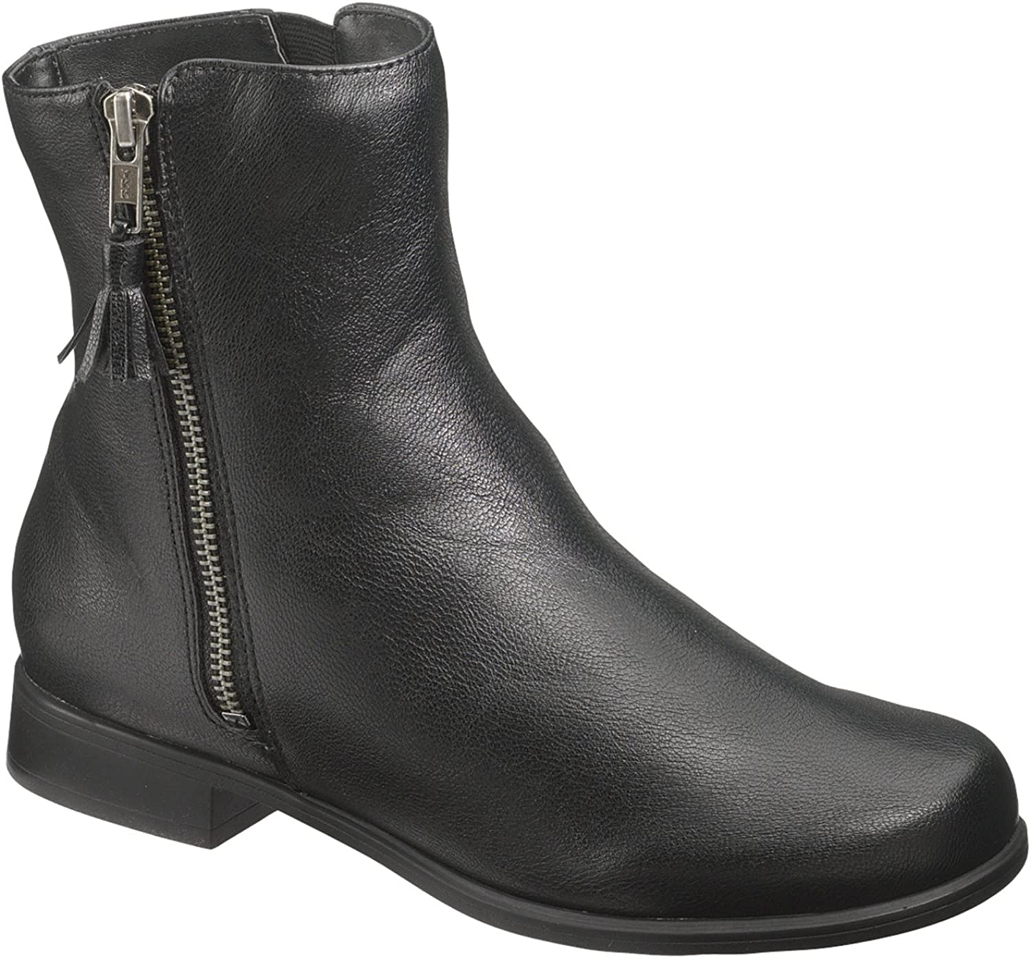 Hush Puppies Women's Motive Ankle Zip Boots