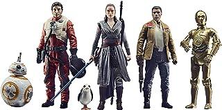 Hasbro F1419 Star Wars firande saga leksaker motståndsfigurer set, 9,5 cm stora actionfigurer att samla upp 6-pack, för ba...