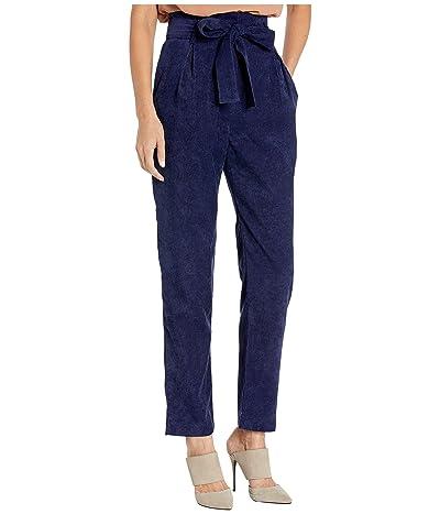 WAYF Randell Paperbag Waist Pants (Navy) Women