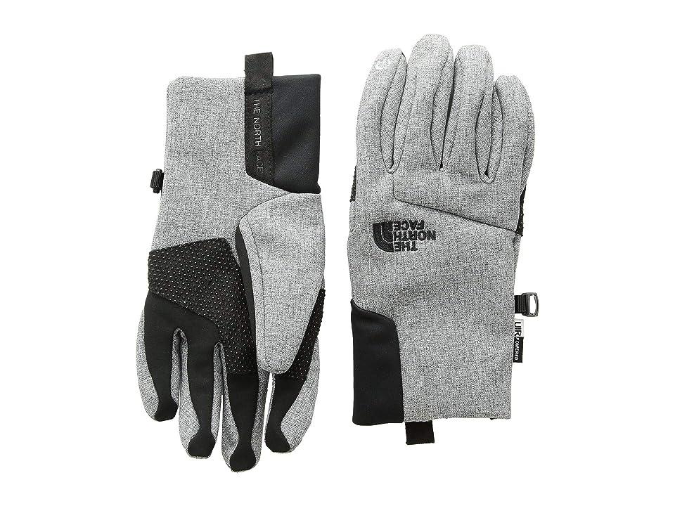 The North Face Kids Apex + Etiptm Gloves (Big Kids) (TNF Medium Grey Heather) Extreme Cold Weather Gloves