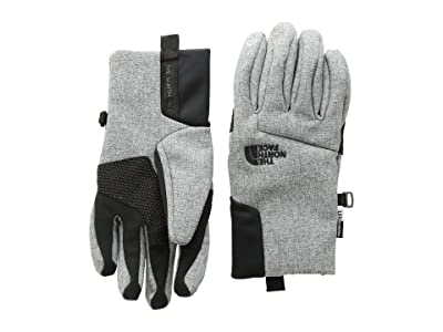 The North Face Kids Apex + Etiptm Gloves (Big Kids) (TNF Medium Grey Heather) Extreme Cold Weather Gloves
