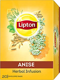 Lipton Herbal Infusion Tea Bags - Anise, 20s