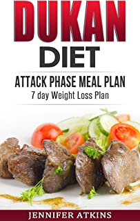 DUKAN DIET: Attack Phase Meal Plan: 7 Day Weight Loss Plan (Dukan Diet Recipes, Lose Weight Naturally, Burn Fat, Build Muscle, Lose Weight) (English Edition)