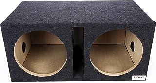"Atrend Bbox E12DSV Pro-Series 12"" Dual Vented Subwoofer Enclosure, charcoal"
