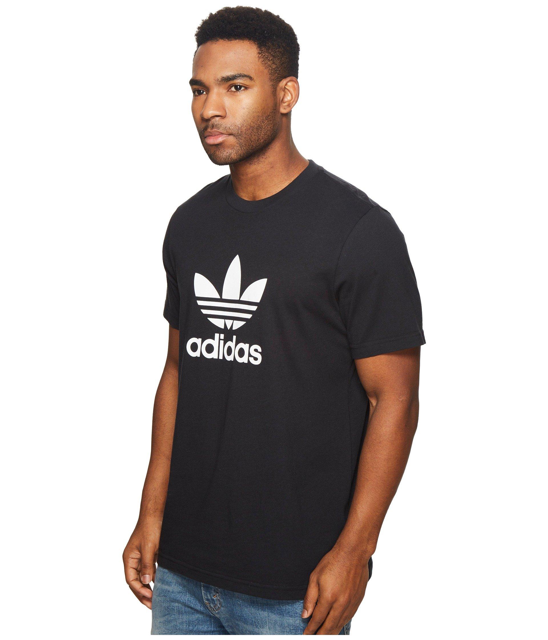 Trefoil Tee Adidas Trefoil Adidas Black Tee Black Tee Originals Originals Adidas Trefoil Originals Black AxfEPa