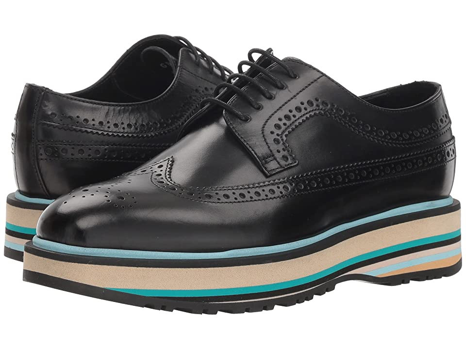 Paul Smith Grand Stripe Oxford (Black) Women