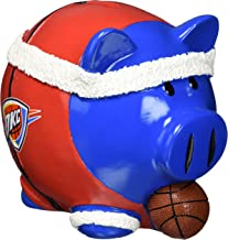 NBA Oklahoma City Thunder Resin Headband Piggy Bank, Large, Blue