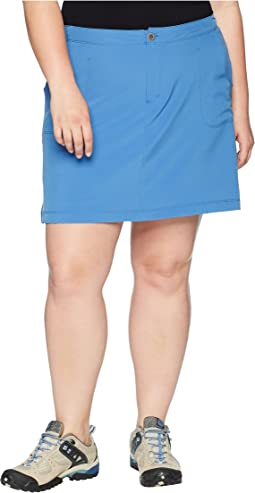 White Sierra Plus Size West Loop Trail Skort