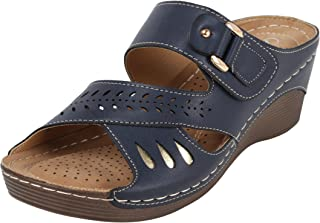 Catwalk Blue Fashion Sandals