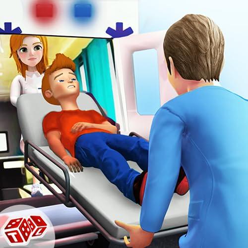 niños hospital emergencia rescate doctor juegos