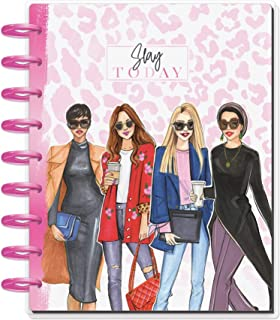 The Happy Planner - Rongrong Slay Today Theme - July 2020 to December 2021 - Vertical Layout - Weekly & Monthly Disc-Bound...