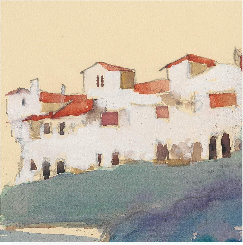 Trademark Fine Art Along The Costa Del Sol II by Samuel Dixon, 14x14