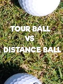 snell golf ball red vs black