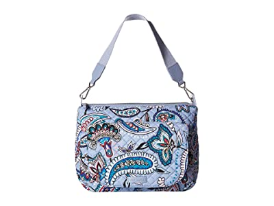 Vera Bradley Carson Shoulder Bag (Makani Paisley) Shoulder Handbags