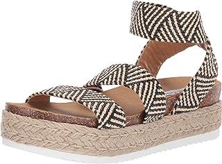 9ecfe159ee01 Amazon.com  Steve Madden Women s Wedge   Platform Sandals