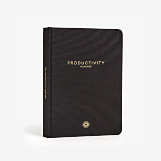 """Productivity Planner - Daily Planner - Non Dated 5 x 8"""" - Accomplish Your 2019 Goals"""