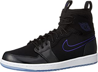 get cheap 061b3 b2c22 Jordan Mens Air 1 Retro Ultra High, BLACK CONCORD-BLACK-WHITE,