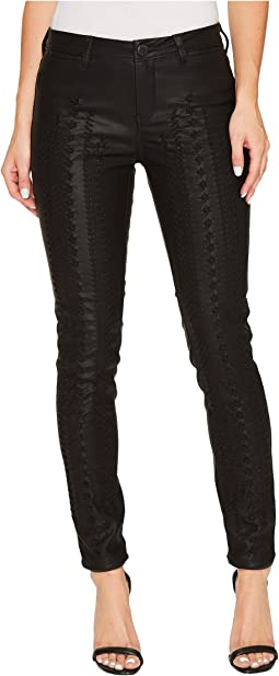 Blank NYC - Vegan Leather Lace-Up Pants in Wake Up Call
