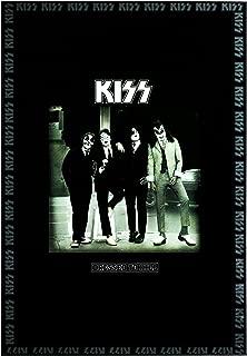 "American Art Decor KISS ""Dressed to Kill"" Framed Album Poster Print 70's 80's Rock Band"