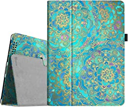 Fintie iPad 4/3/2 Case - Slim Fit Folio Stand Case Smart Protective Cover Auto Sleep/Wake Feature for Apple iPad 2, iPad 3 & iPad 4th Generation with Retina Display - (Z-Shades of Blue)