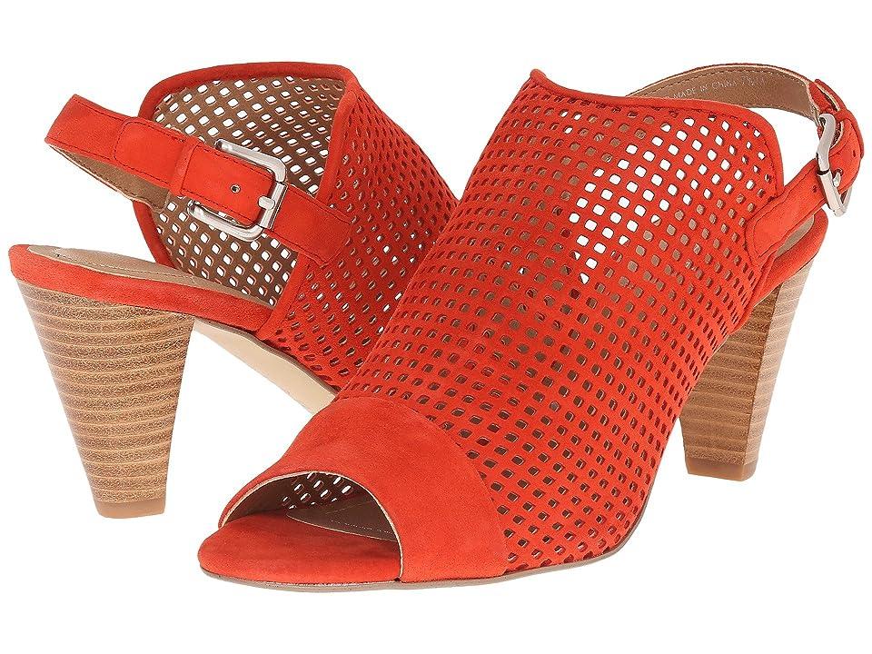 Tahari Eloise (Blood Orange Suede) High Heels