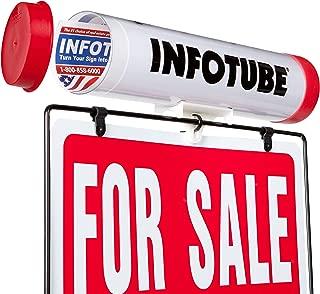 Info Tube Brochure Holder, 1 Pack