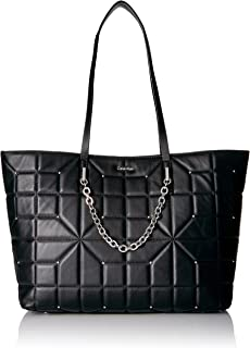 Calvin Klein Hera Lamb Studded Chain Front Tote