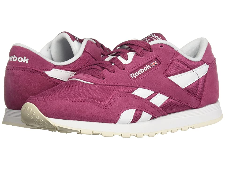 Reebok Lifestyle Classic Nylon (Twisted Berry/White/Chalk) Women