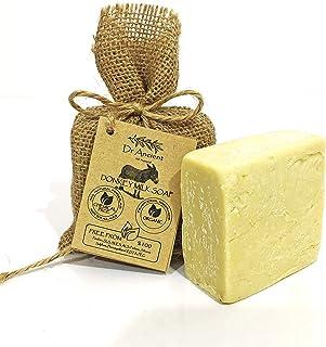 Orgánico natural tradicional hecho a mano antiguo leche de burro barra de jabón - Anti-