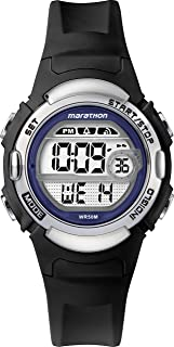 Marathon LCD Dial with a Black Resin Strap Watch TW5M14300