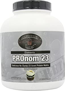 Controlled Labs Pronom 23 Cupcake Batter, Chocolate, 4 Pound
