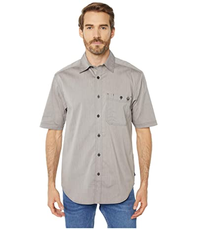 Wolverine Grayson Short Sleeve Shirt (Gray Chambray) Men