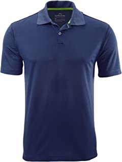Kathmandu Vanua Men's Classic Short Sleeve Collar Polo Shirt Top v2