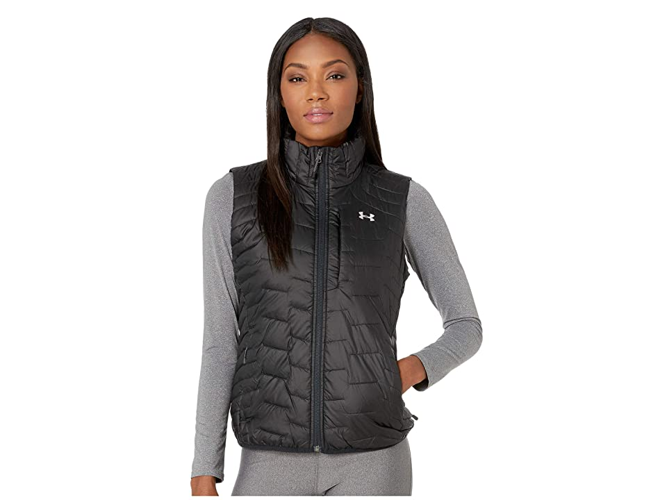 Under Armour UA ColdGear Reactor Vest (Black/Black/Ghost Gray) Women