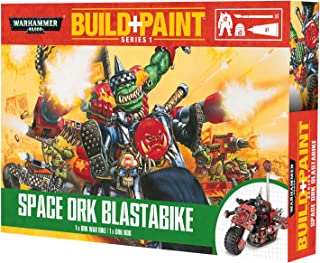 Warhammer 40k Build+Paint Space Ork Blastabike